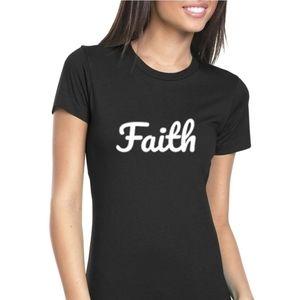 Faith Forever Women's Tee (Black)